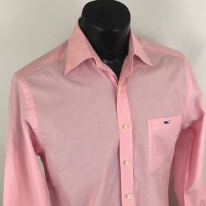 Vineyard Vines Shirts - Vineyard Vines Slim Tucker Shirt Button Up Pink S